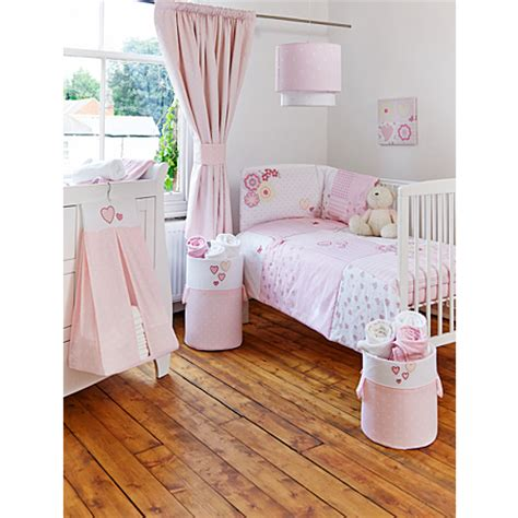 Patchwork Nursery - pretty pink patchwork nursery range nursery furniture
