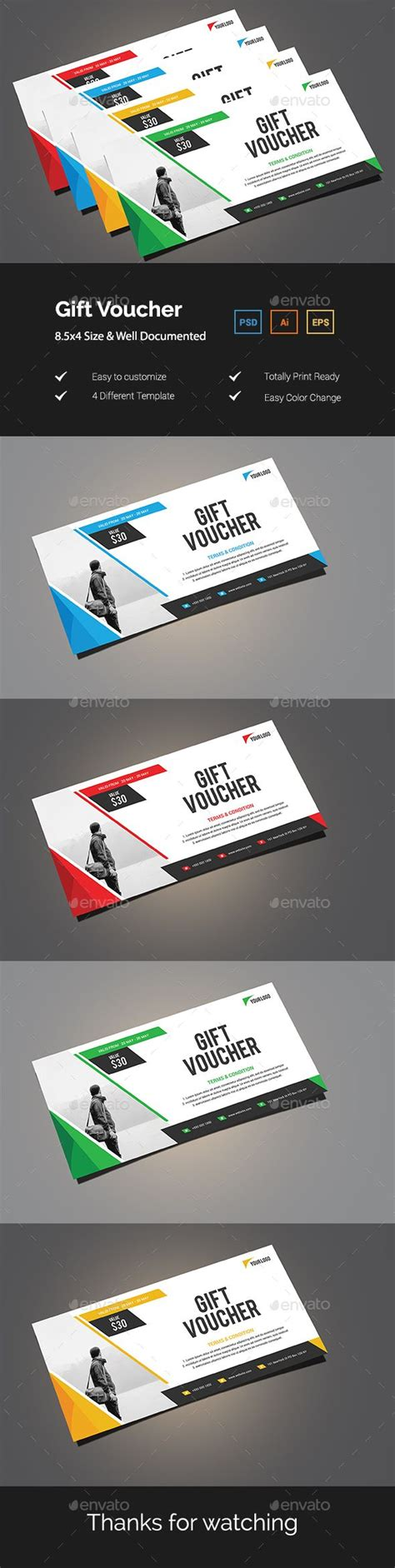 best 25 gift voucher design ideas on pinterest gift