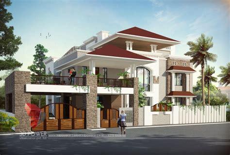Full House Design Studio Hyderabad bungalow design ganjam 3d power