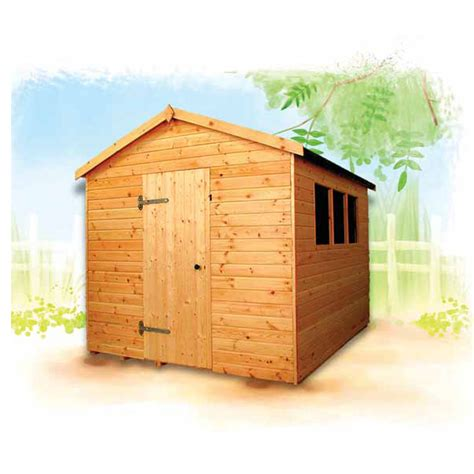 Sectional Sheds by Major Apex Wooden Shed Walton Sectional