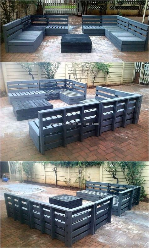 25 best ideas about pallet patio on painted