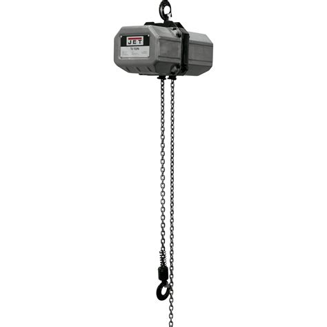 jet ss series electric chain hoist  ton capacity ft lift  phase model ss
