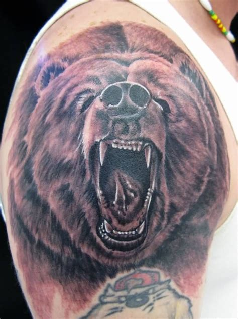 grizzly tattoo grizzly ideas and grizzly designs
