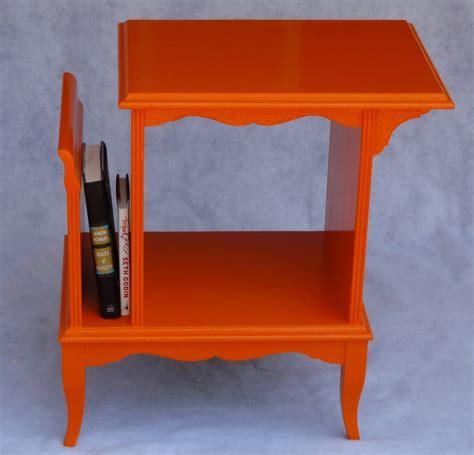 Orange Magazine Rack by 43 Best Diy End Table Makeovers Images On End