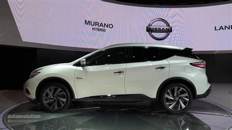 nissan hybrid 2016 world premiere for 2016 nissan murano hybrid at auto