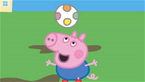 peppa juega ftbol peppa 1338114425 juego de peppa pig de f 250 tbol gratis juegos xa chicas