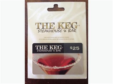 Where To Buy The Keg Gift Cards - keg gift card st vital winnipeg