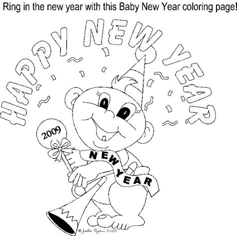 coloring page for new year 2016 happy new year coloring pages page grig3 org