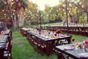 Outdoor wedding reception banquet style weddings superweddings