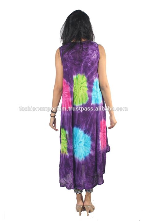 Basic Umbrella Maxi multi color tie dye rayon fabric umbrella dress plus size 10 colors buy tie dye maxi dress