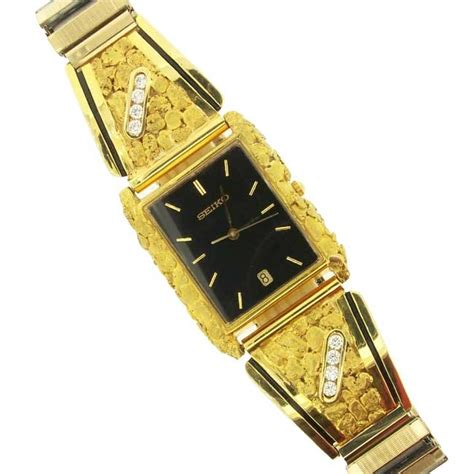 alaskan gold nugget watches and money