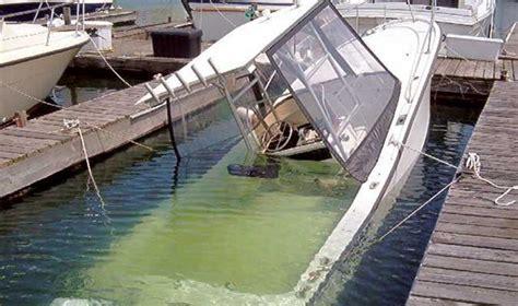 sinking boat docks spring boat commissioning boatus magazine