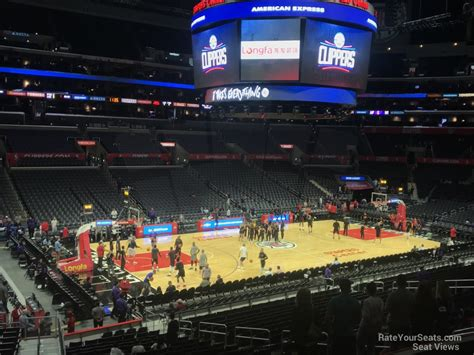 Section Pr 16 Staples Center by Staples Center Premier 16 Clippers Lakers