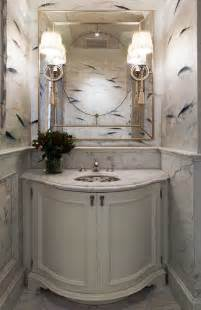 How To Make A Small Powder Room Look Bigger Inspire Me Renovated San Francisco Home Traditional Home