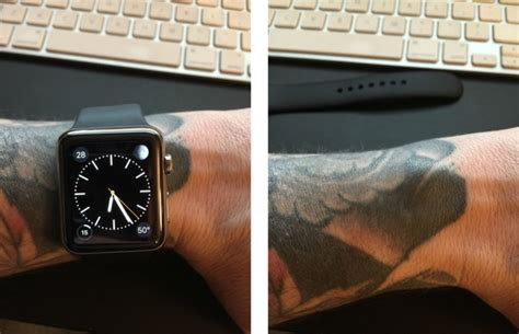 tattoo apple watch apple watch does not play nicely with wrist tattoos