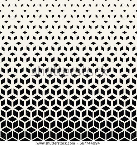 pattern linear vector seamless pattern modern stylish texture stock