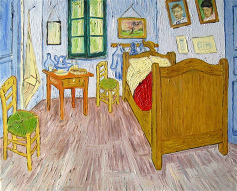 vincent gogh bedroom vincent gogh bedroom