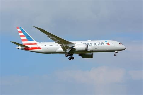 American Airlines flying on american airlines 787 8 from auckland airways