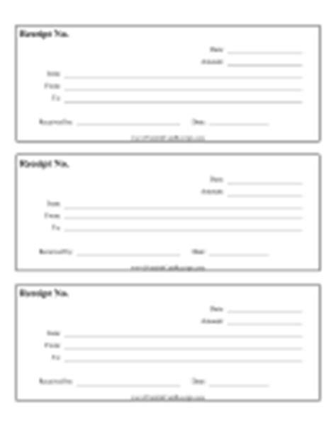 garage sale receipt template printable sales slips