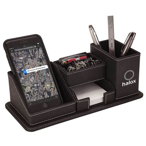 oxford desk oxford desk organizer with phone stand personalization
