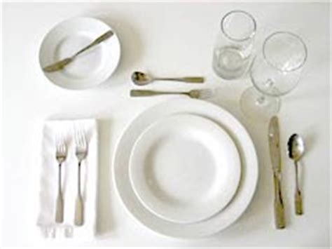 Silverware Placement On Table by Finer Consigner A Week Of Quot How To S Quot