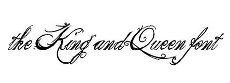 king and queen tattoo font 50 beautiful calligraphy fonts for designers creative
