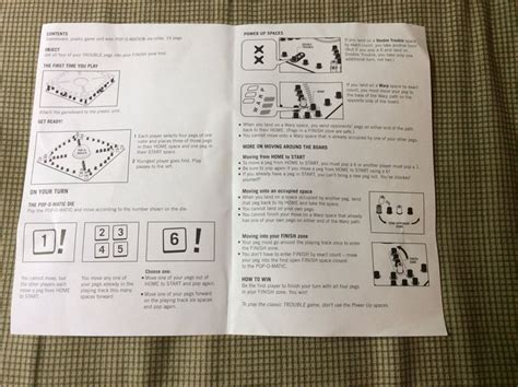 trouble warp instructions games  kids summer fun