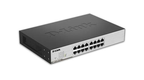 Switch Manageable 16 Port 1100 series smart managed 16 port gigabit switch desktop or rackmount dgs 1100 16 d link canada