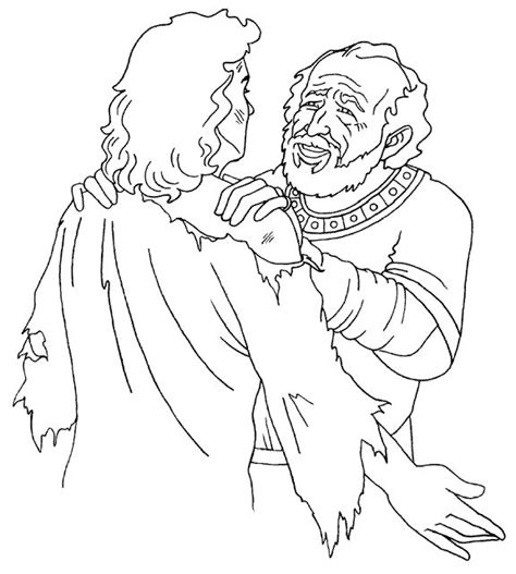 prodigal son coloring pages preschool 20 best parables of jesus images on pinterest activities