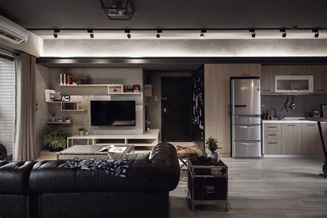 marvela interiors marvel themed industrial bachelor s apartment in taiwan