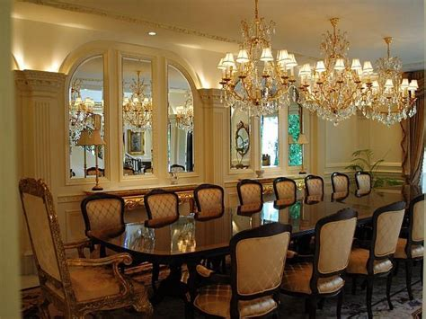 formal dining room pictures villa collina 12 500 000 pricey pads