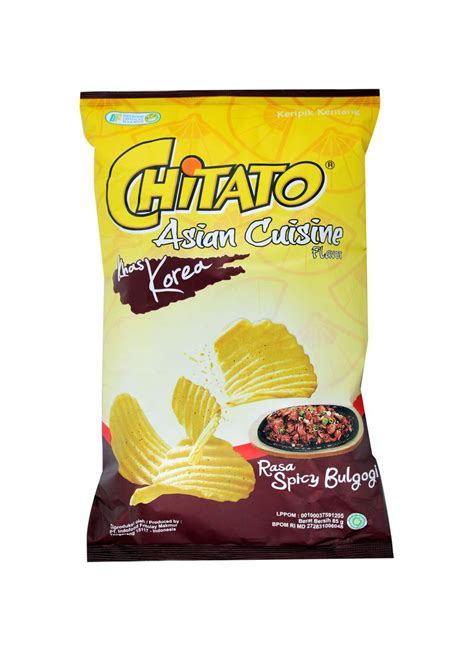 Mister Potato Crisps Barbeque 100g chitato snack potato asian cuisine spicy bulgogi pck 85g