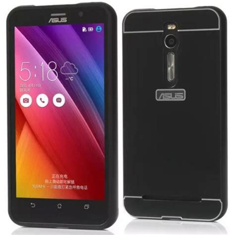 Bumper Alumunium Asus Zenfone C 1 aluminium bumper with arcylic back for asus zenfone 2 ze551ml black jakartanotebook