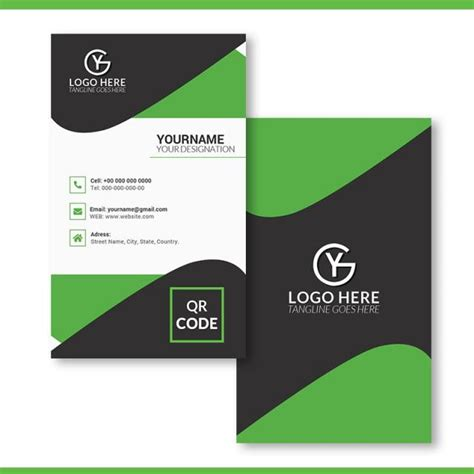business card page template png vertical business card template template for free