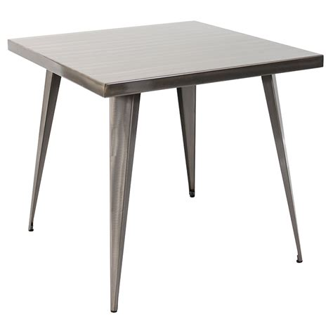 32 Dining Table Modern Dining Tables Ajax 32 Quot Brushed Table Eurway