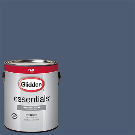 glidden team colors 8 oz nfl 025e nfl dallas cowboys navy interior paint sle gld nfl025e 16