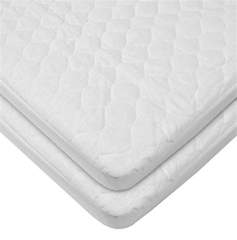 Portable Crib Mattress Pad From Usa American Baby Company Waterproof Fitted Quilted Portable Mini Crib Mattress Pad Cover