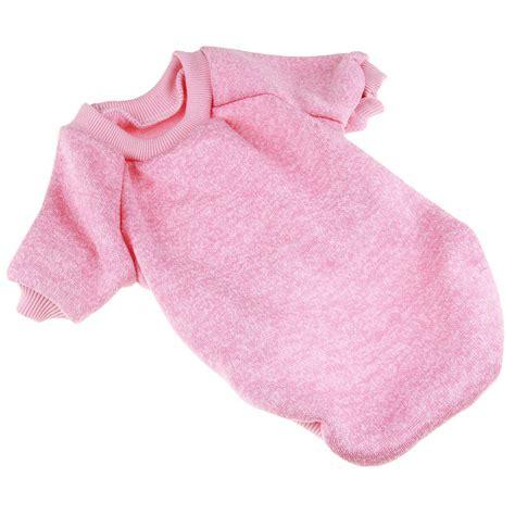 Bahan Babitery Fit L 1ab baju anjing lucu bahan polyester size l pink jakartanotebook