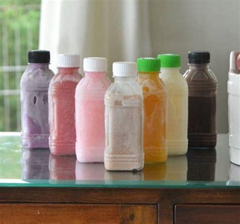 jus buah susu alternatif minuman sehat  bergizi