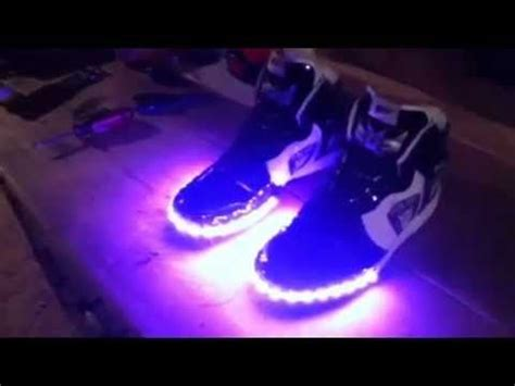 diy light up shoes how to make led light up shoes science fair