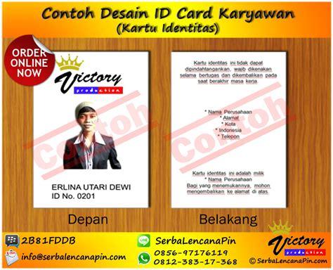 design id card karyawan cetak idcard sablon tali idcard jual yoyo idcard