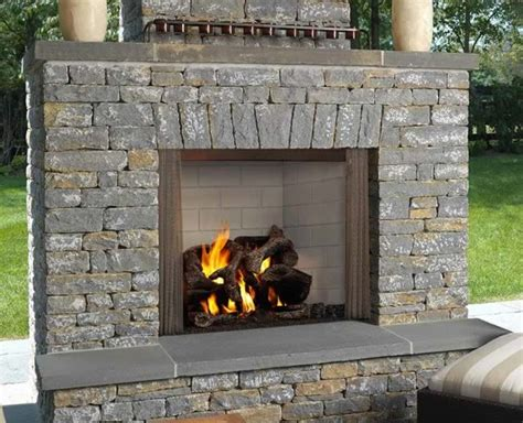Wood Burning Fireplace Outdoor by 42 Quot Castlewood Outdoor Wood Burning Fireplace S Gas