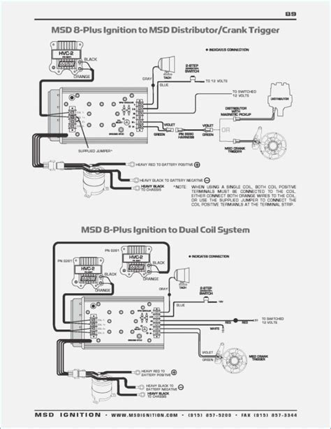 msd 7al 2 ignition wiring diagram wiring diagram with