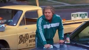 gallery for gt back to the future biff waxing car
