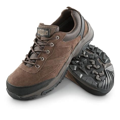 s guide gear 174 true trail waterproof shoes brown