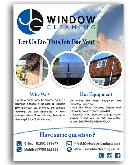 leaflet design for cleaning window cleaning flyers www imgkid com the image kid