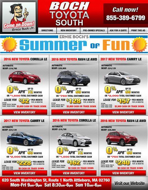 Boch Toyota Attleboro Ma Boch Toyota South In Attleboro Ma