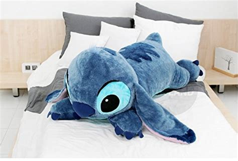 shark pillow that eats you snuggle up with a gigantic stitch pillow
