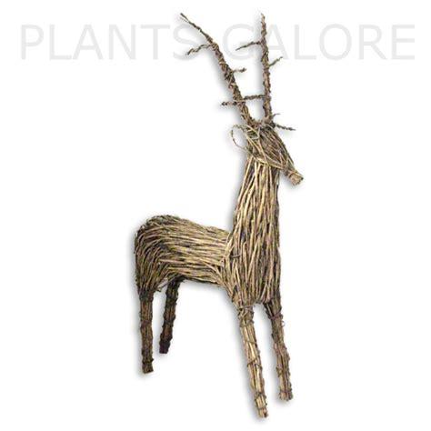 wicker reindeer buy wicker reindeers order wicker reindeers the