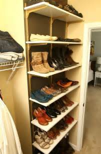 Shoe Closet Organization by 10 Clever And Easy Ways To Organize Your Shoes Diy Crafts